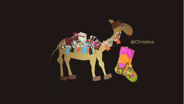 ein weiteres sehr niedliches Ramadankalender Kamel, diesmal von Christina und Kijan Idris - mashallah