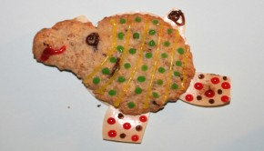 Schaf-Keks-Süßigkeit