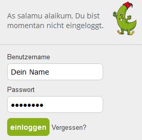 Anmeldung grünebanane.de