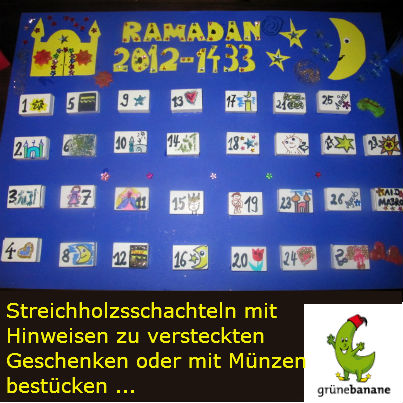 Ramadan Schachteln