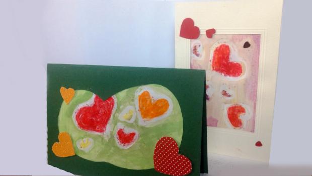 Herzchen Karten von Amal