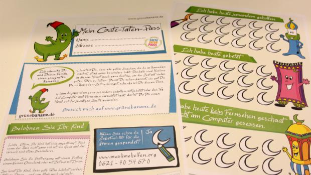 Den Gute-Taten-Pass für Ramadan