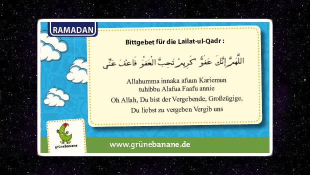 Dua zur Lailat-ul-qadr