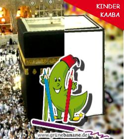 Das schwarze Tuch der Kaaba. Warum ist es schwarz?
