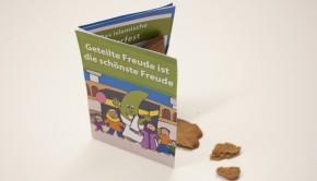 Der Festgruß für Nachbarn, Freunde und Familie zum Ausdrucken auf grünebanane.de