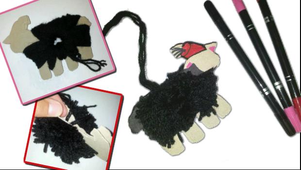 Schaf-Kurban-Wolle-Bommel