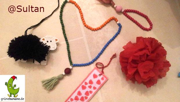 Tesbih Kinder Gebetskette selbst gemacht
