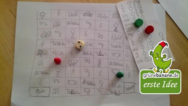 Jasmin 9J. und ihre Mama entwickeln eine erste Spielidee