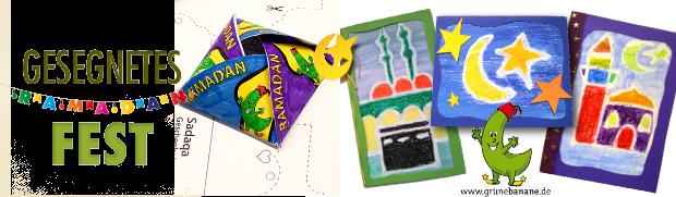 Karten Fest Ramadan