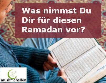 Vorhaben Ramadan