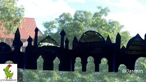 Moschee Fenster Dekoration