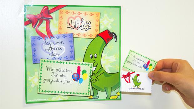 Geschenkanhänger zum Ramadan oder Opferfest