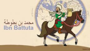 früher Weltreisender in der islamischen Geschichte, ibn Batuttah, stammt aus Marokko