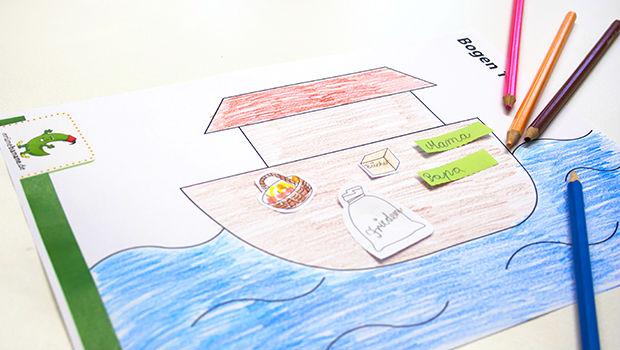 Lerne von der Geschichte des Propheten Nuh (as) i.e. Noah und die Arche. Abwechslungsreiches Material für den Islamunterricht