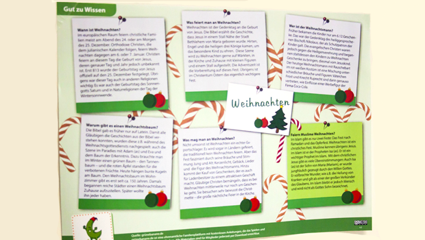 Was weißt Du über das Feiern von Weihnachten? Woher kommt der Weihnachtsbaum? Wer hat den Weihnachtsmann erfunden? Was hat das mit Isa (as) zu tun?