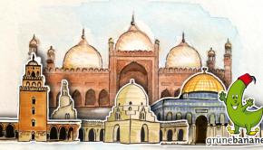 Moscheen illustriert von Tangenda Design