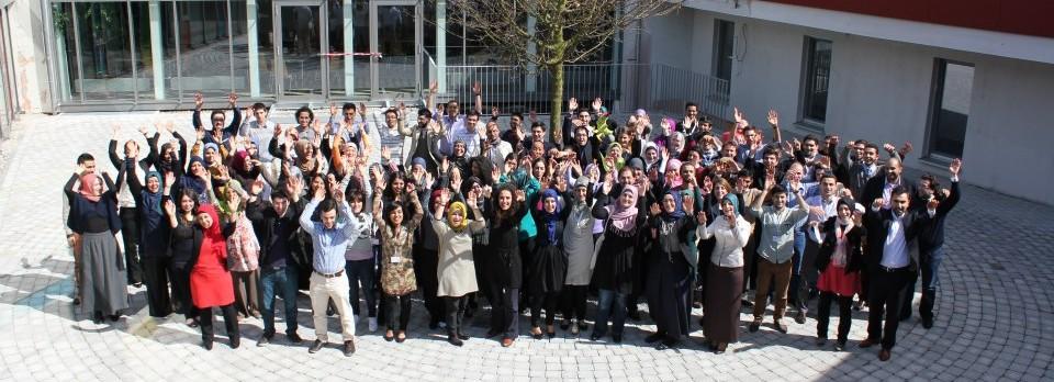 Auch auf der Zahnräder Konferenz 2013 in Heidelberg waren wir bereits dabei © Foto: Tasnim Baghdadi