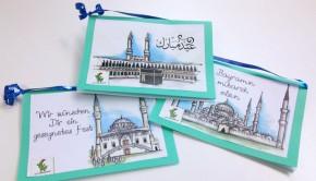 Schicke einen festlichen Gruß zum islamischen Fest